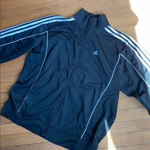 Adidas zipper down jacket